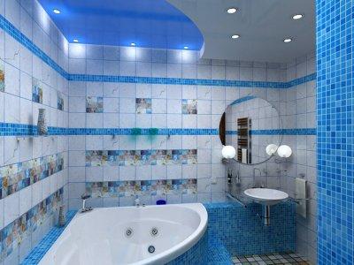 Ванная комната: освещение своими руками