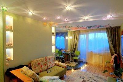 Естественное освещение в квартире