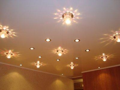 Светодиодное освещение для натяжных потолков
